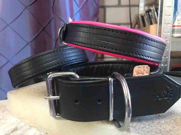 Standaard halsband gevoerd