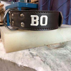 Halsband met naam ongevoerd