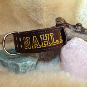 Halsband met naam